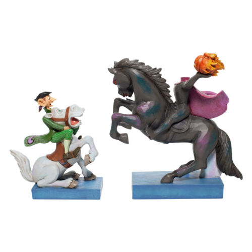 Disney Traditions Jim Shore Headless Horseman & Ichabod #6007059