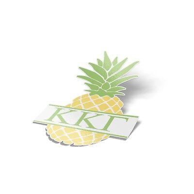 """Kappa Kappa Gamma KKG Pineapple Letter 4"""" Sticker"""
