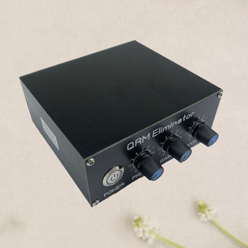 Aluminum Alloy QRM Eliminator X-Phase 1-30 MHz HF Bands Amplifier - Black