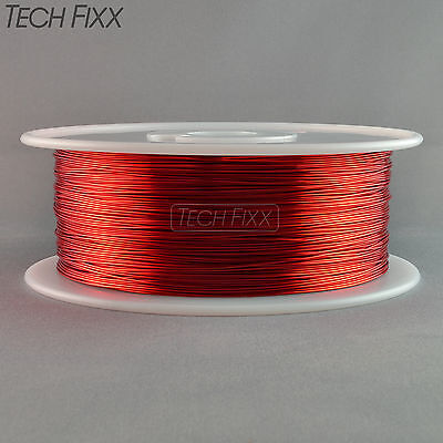 Magnet Wire 22 Gauge Awg Enameled Copper 1750 Feet Coil Winding 155c Red
