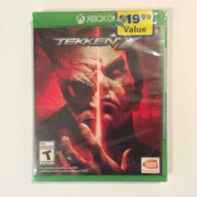 Tekken 7 Microsoft Xbox One Factory Sealed NEW