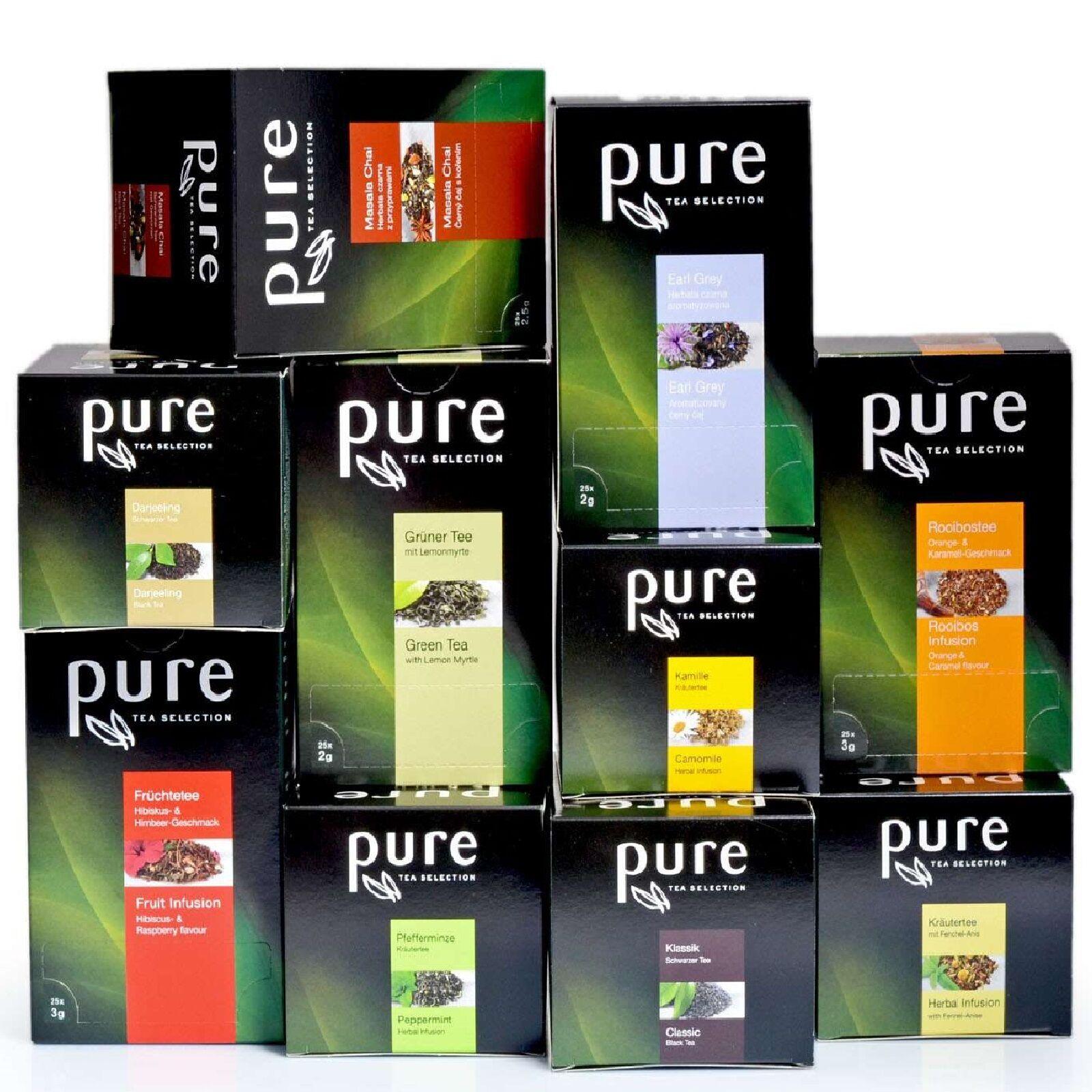 Pure Tea Selection Tchibo Tee Sorten Auswahl - verschiedene Teesorten