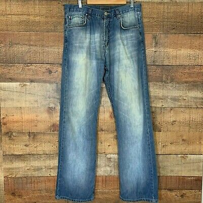 Men's Versace Jeans Couture Distressed Lightweight 33 x 32
