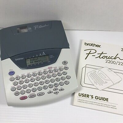 Brother P-touch 22002210 Label Maker W Manual