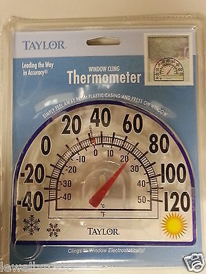 Taylor WINDOW CLING OUTDOOR THERMOMETER  7