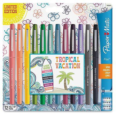 Papermate Flair Medium Point Porous Markers - Medium Pen Point Type Pap1928605