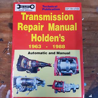 Holden transmission  repair manual