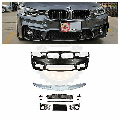 2012-18 F80 M3 STYLE FRONT BUMPER FOR BMW F30 F31 3 SERIES SEDAN & WAGON W/ PDC
