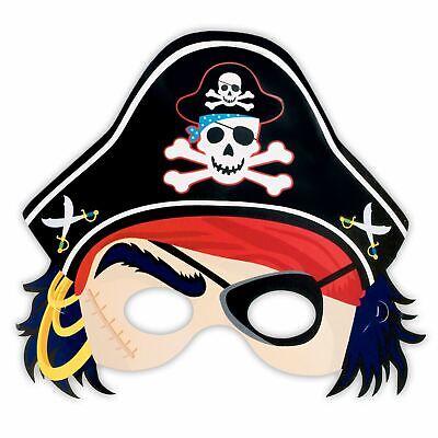 Schatz Papier Piraten Augen Maske mit Hut Kinder - Hut Pirat Kostüme Maske