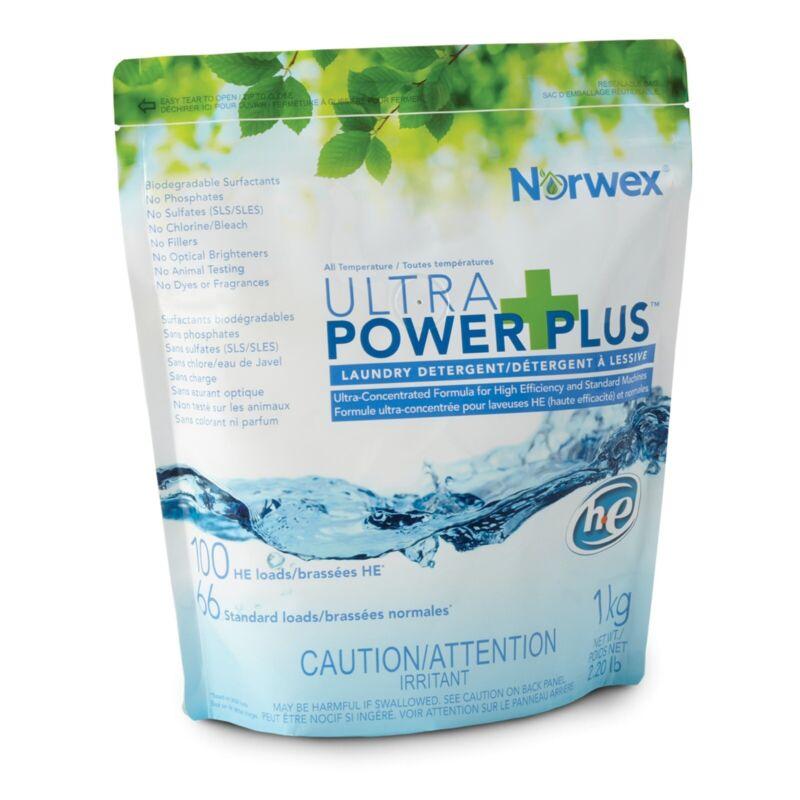 Norwex Ultra Power Plus Laundry Detergent - (2.2 lbs.) - 100 Loads