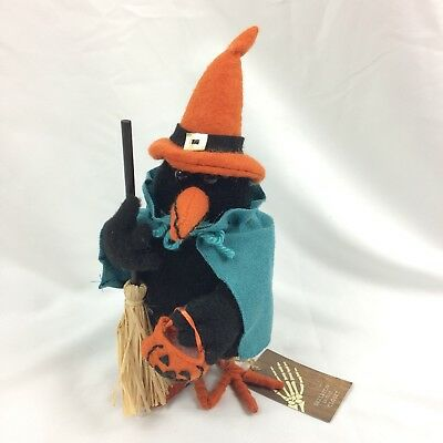 Halloween Black Bird Witch Decor Raven Fabric Crow - Skeleton In The Closet Bran - Raven Decor