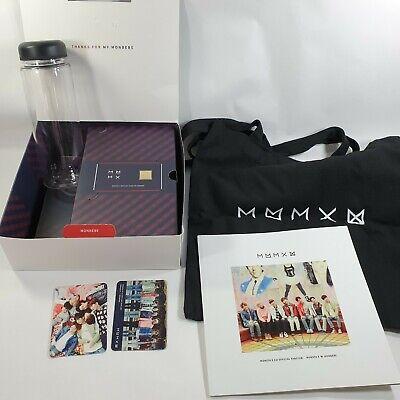 MONSTA X Official Fanclub MONBEBE 1st term Goods Photobook Photo Card Eco bag