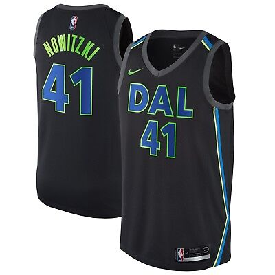 New 2018 Nike NBA Dallas Mavericks Dirk Nowitzki 41 City Edition Swingman Jersey