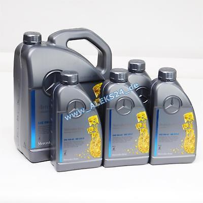 9L Orig. Mercedes Synthetic Motoröl Ölservice 5W40 MB 229.5 A00098983701 9 Liter