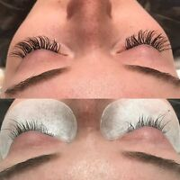 Eyelash Extensions and Spray Special $80