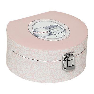 Marquise Jewelry Box - Mathilde M Jewellery Box Storage Vanity Case Pink Mirror Mademoiselle Marquise