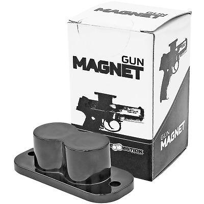 Under Table Desk Gun Pistol Magnet 25lb for Safe Mounting Handgun Safety Storage Holsters
