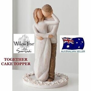 willow tree wedding cake topper together wedding cake topper demdaco willow tree figurine 27492