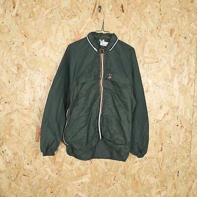 K-WAY Hooded Anorak Jacket Green Small S