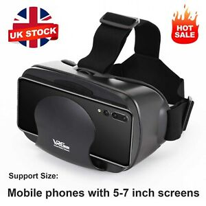 360° VR 3D Glasses Headset Goggles Virtual Reality Headset for Mobile Phone