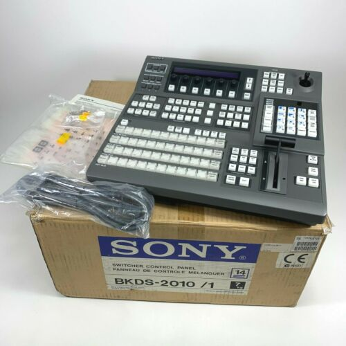 Sony Digital Switcher Control Panel BKDS-2010 Video Production | NEW - OPEN BOX