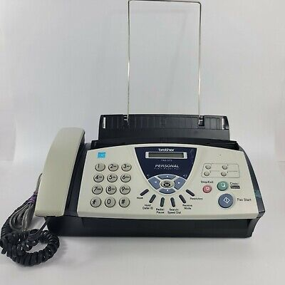 Brother Fax-575 Personal Office Plain Paper Fax Machine Phone Copier