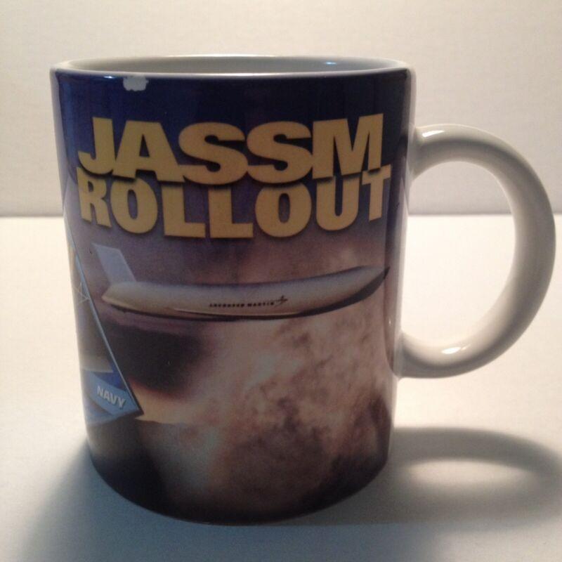 Lockheed Martin JASSUM Rollout AGM158 Mug Cup Air Force Navy Aerospace Aviation