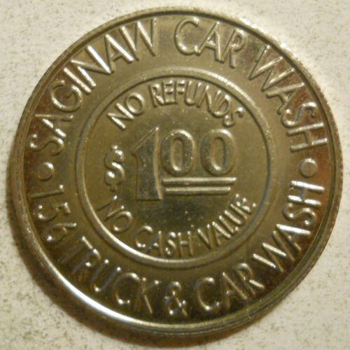 Saginaw Car Wash (Fort Worth, Texas) token - TX3400K