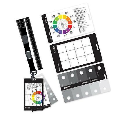 Grey Scale Value Finder, Color Wheel, Artists View Catcher Finder Viewfinder ...