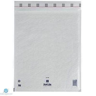50 G4 G/4 White 240 x 330 mm Padded Bubble Wrap Mail Postal Bag Envelopes NEW