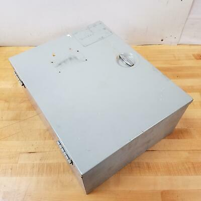 Hoffman A20n168lp 20x16x8 Enclosure Circuit Box. - Used