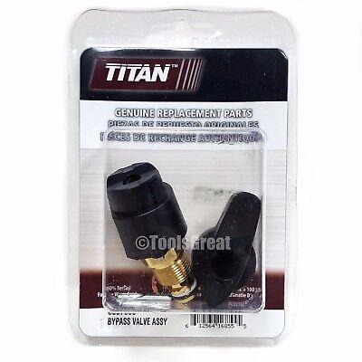 Titan Spraytech Prime Valve Drain Valve Repair Kit 0507690 Bypass Valve