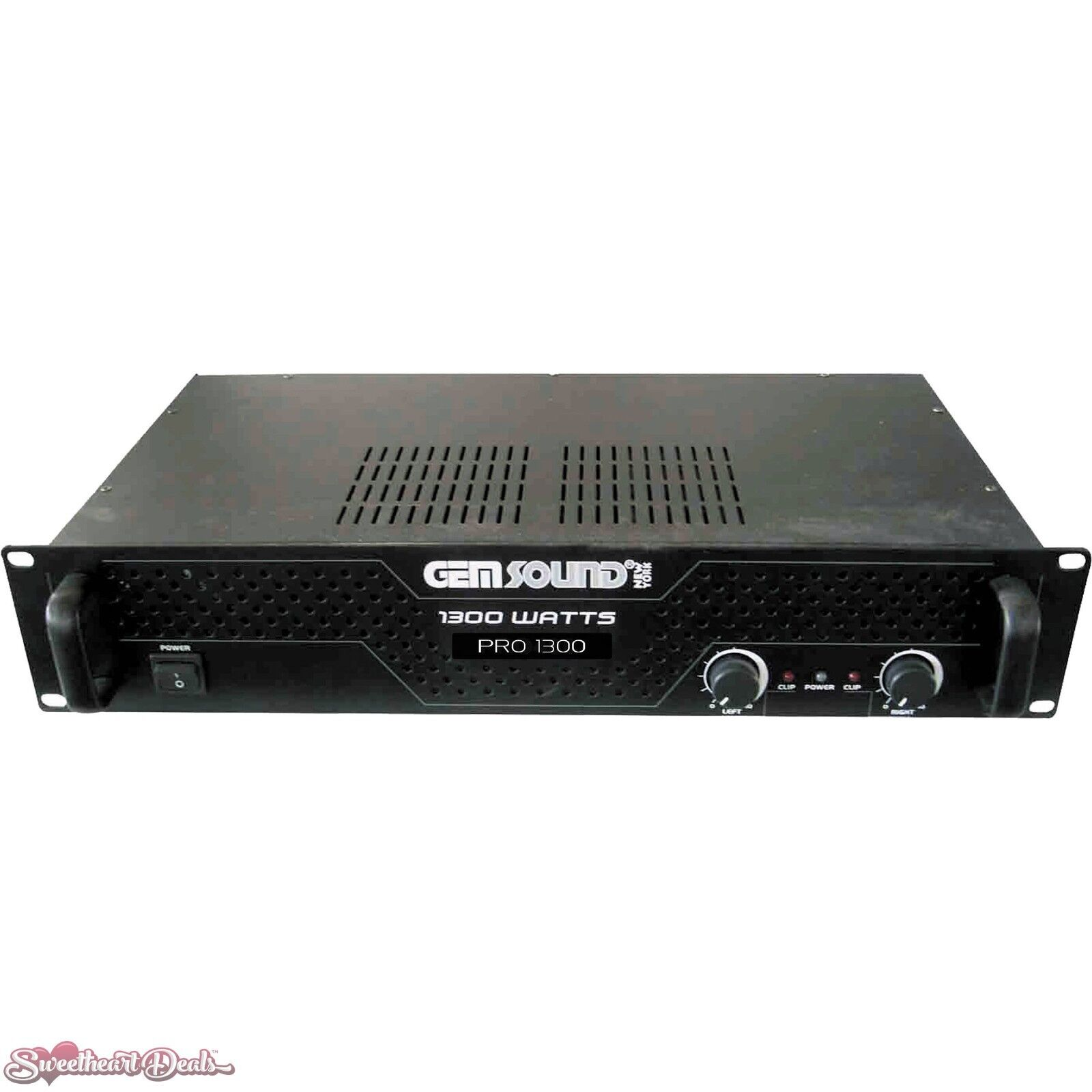 gem sound pro1300 ipp 1300w stereo power amplifier 643595009869 ebaydetails about gem sound pro1300 ipp 1300w stereo power amplifier