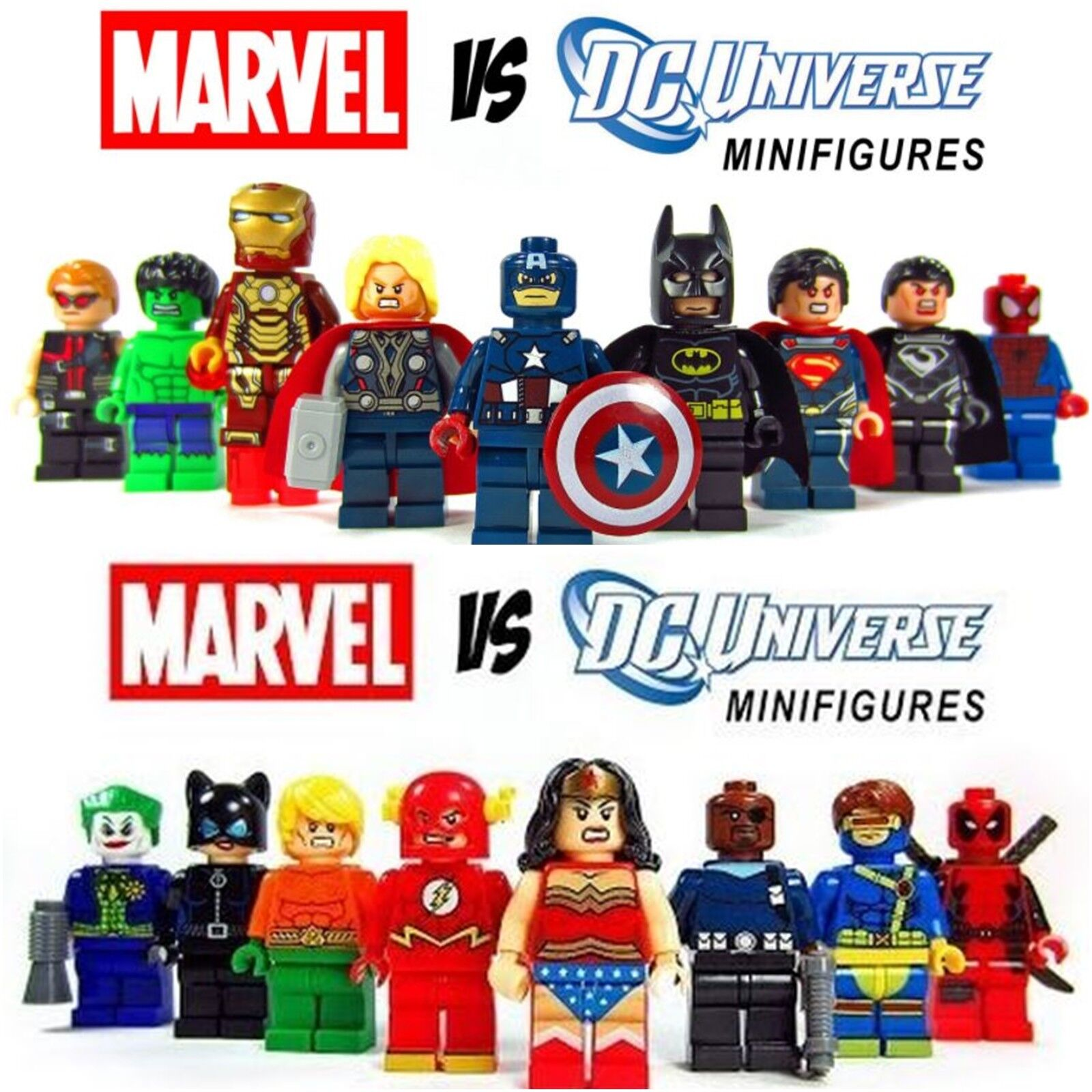 Wonder Woman Movie Marvel DC Avengers Minifigure LEGO Fits Mini Figure