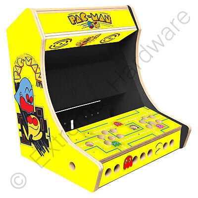 "BitCade 2 Player 19"" Bartop Arcade Cabinet Machine with Pac-Man Artwork"