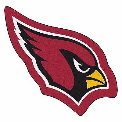 Arizona Cardinals Rug - Arizona Cardinals Mascot Decorative Logo Cut Area Rug Floor Mat