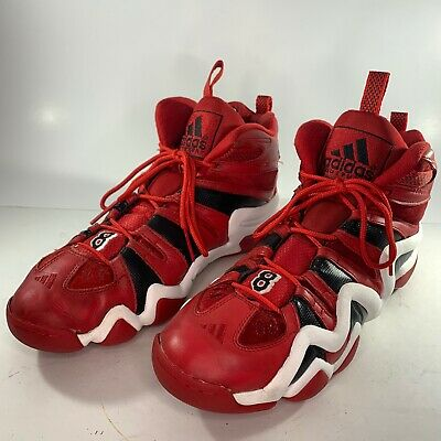 ADIDAS Crazy 8 Sneaker Kobe Bryant Fire Red Basketball Shoes G48588 Size 13