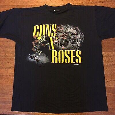 Vintage 1987 Banned Guns N Roses Appetite For Destruction Tour T Shirt