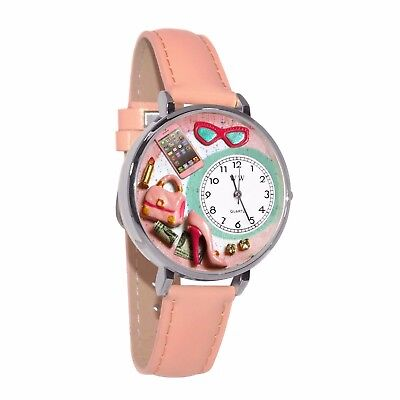 Whimsical Watches Unisex U1010008 Shopper Mom Pink Leather Watch
