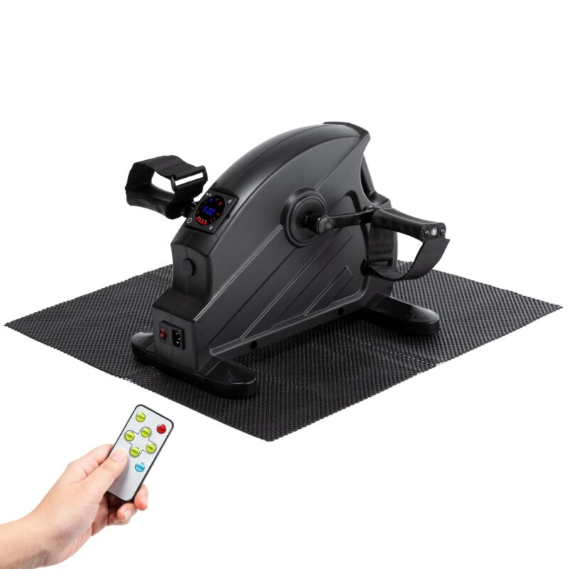Mini Exercise Bike Pedal Exerciser LCD Screen Remote Control