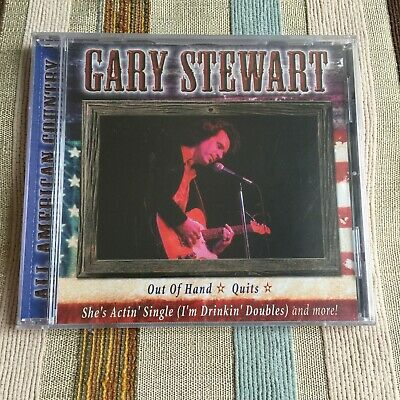 Gary Stewart - All American Country CD *STILL SEALED*