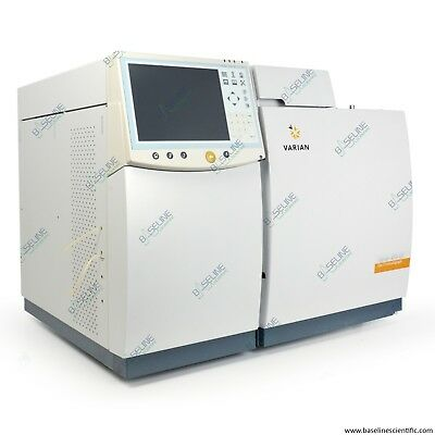 Refurbished Varian 450-gc Gas Chromatograph With One Year Warranty
