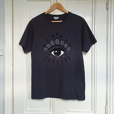 Kenzo Eye Design Black T Shirt M