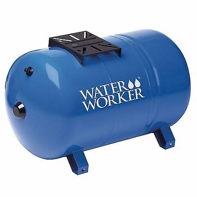 Water Worker 20 Gallon Pre Charged Steel Horizontal Well Pressure Tank