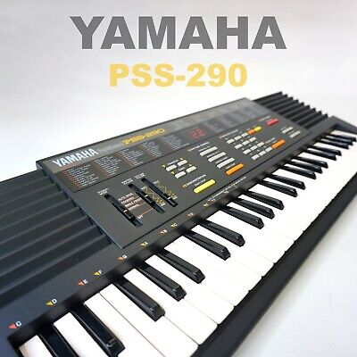 Yamaha PSS 290 Electric Keyboard - Excellent Condition, Boxed with Manual