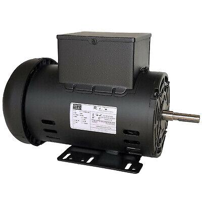 5 Hp 3450 Rpm Air Compressor 60 Hz Electric Motor 230 Volts Century B385