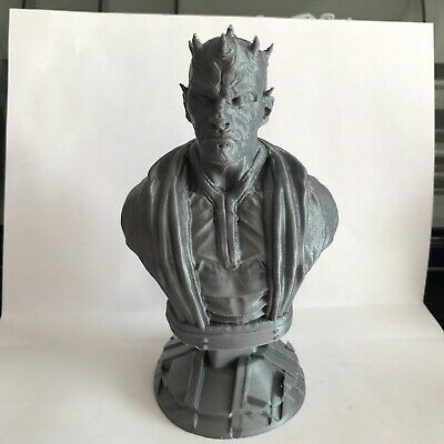 STAR WARS Darth Maul Bust STATUE 5 INCHES HIGH (WITH STAND) Brand New 3D PRINTED
