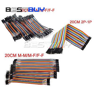 40pcs Dupont Wire Jumper Cable 2.54mm 1p-1p M-mf-fm-f Length10cm20cm30cm