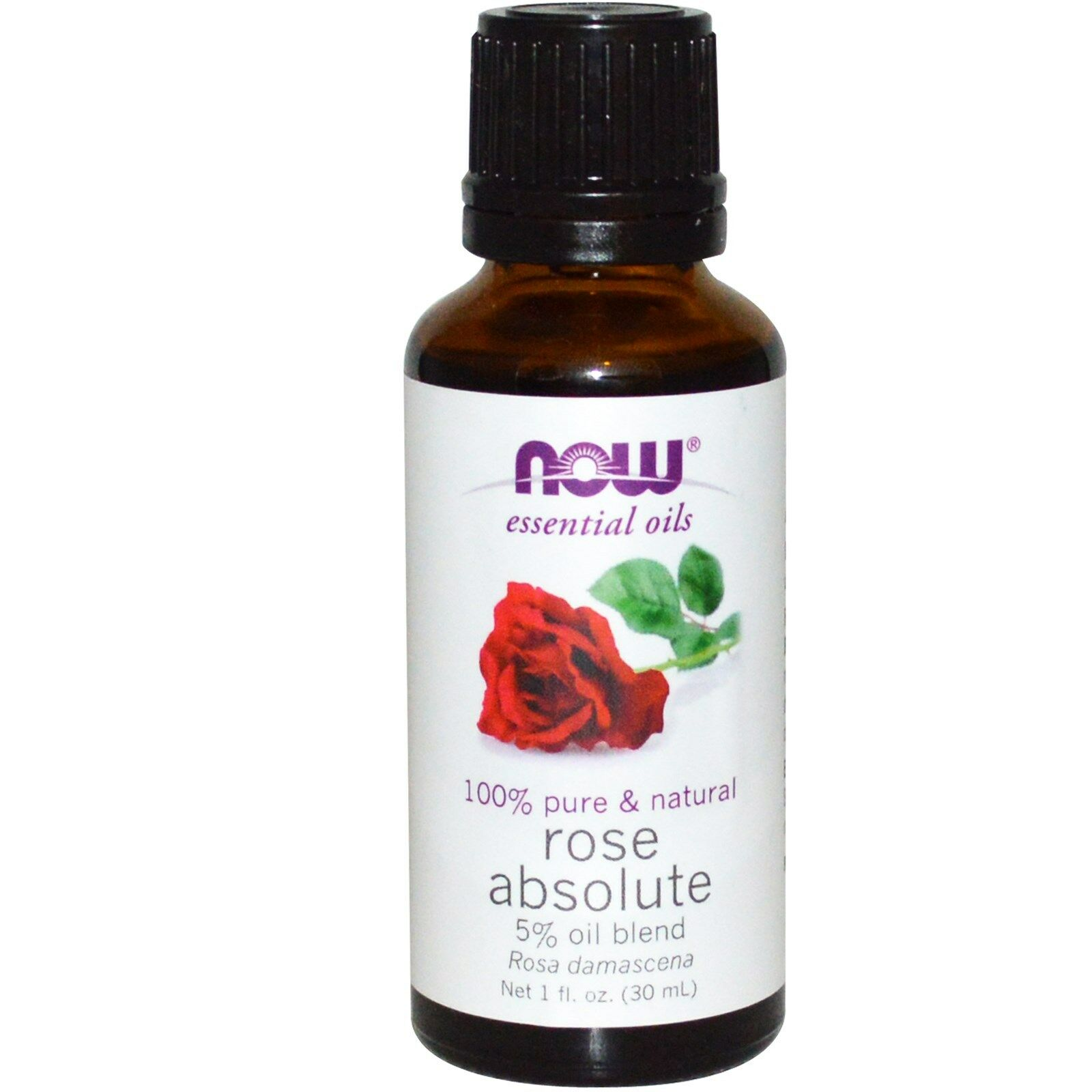 NOW Foods 1 oz Essential Oils and Blend Oils - FREE SHIPPING! Rose Absolute 5% Blend