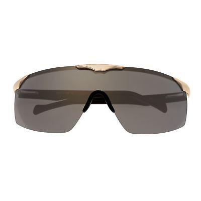 Sixty One Strand Polarisierend Gespiegelt Schild Sonnenbrille Unisex 131gd